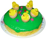This is my favorite Easter cake to date!