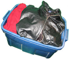 Storing Winter Clothes And Shoes